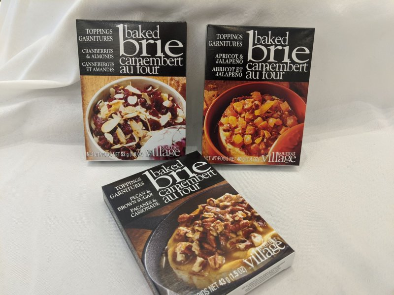 Image 1 of Baked Brie Toppings Trio