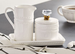 Door Knob Cream & Sugar Set