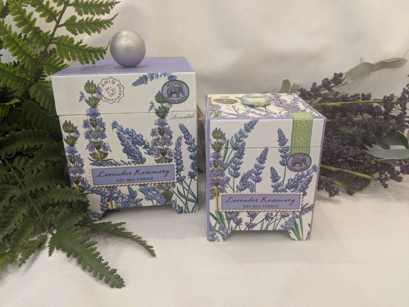 Image 0 of Lavender Rosemary LARGE Soy Candle