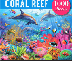 Undersea CORAL REEF 1000pc Puzzle