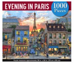 EVENING in Paris 1000pc Puzzle