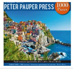 Cinque Terre Riviera 1000pc Puzzle