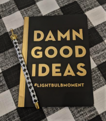 Damn Good Ideas Journal and Pen Set