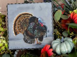 Fall Turkey Gallery Print