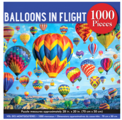 Balloons in Flight 1000pc Puzzle