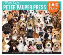 All The Dogs 1000pc Puzzle