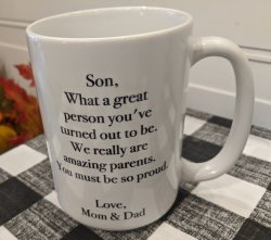 Humorous Son Coffee Mug