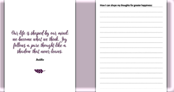 Image 3 of Daily Dose of Happiness Journal
