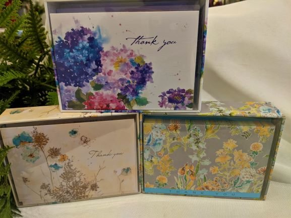 Image 1 of Blossom Thank You Note Cards Set