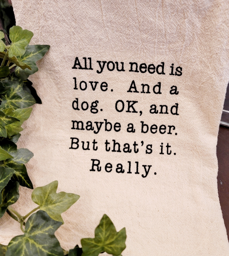 Image 0 of All You Need Funny Kitchen Tea Towel