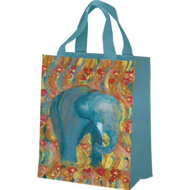 Small Tote - Elephant