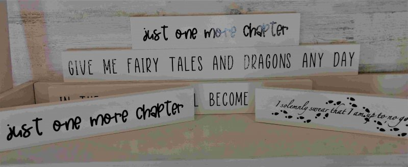 Book Quote Signs