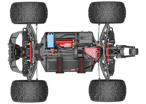 Team Redcat TR-MT10E 1/10 RC Monster Truck Chassis