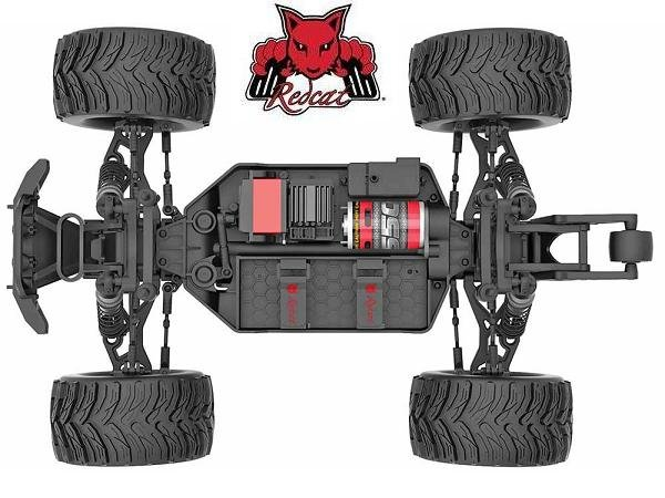 Redcat Dukono Brushed 4x4 1/10 RC Monster Truck Chassis