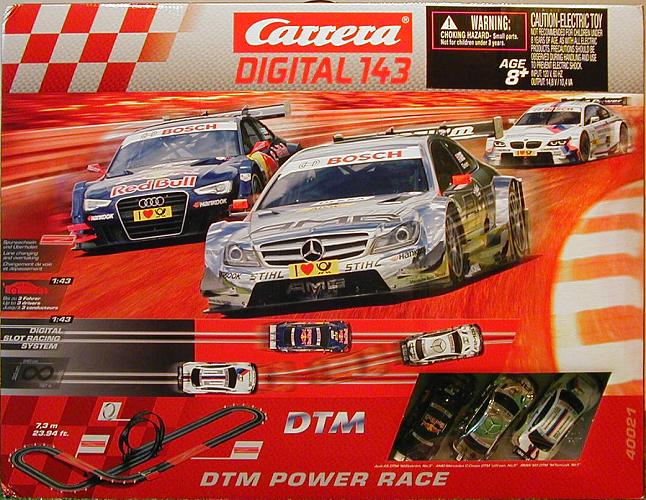Carrera Digital 143 DTM Power Race Set Box photo dtm.jpg