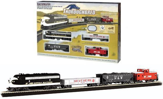 Bachmann Thoroughbred HO Train Set 691