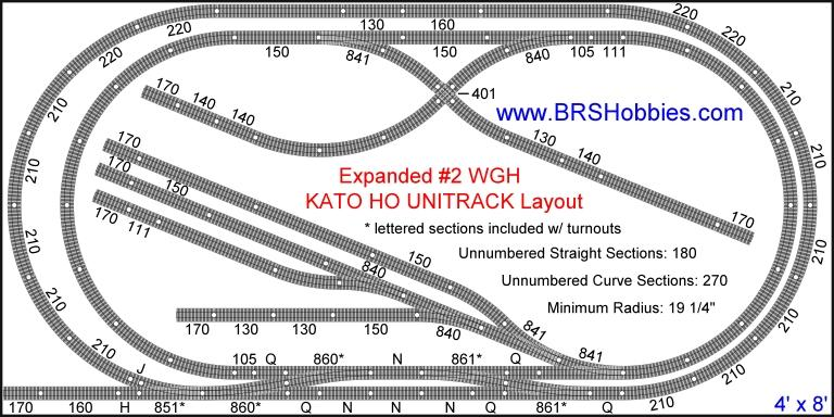Expanded #2 WGH KATO HO UNITRACK Layout photo WGHExpanded2.jpg