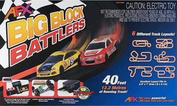 Image 0 of AFX Big Block Battlers HO Race Set 21004
