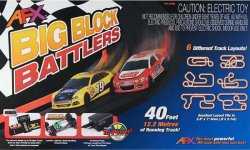 AFX Big Block Battlers HO Race Set 21004