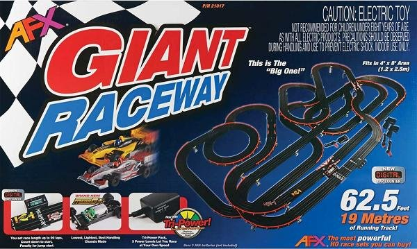 Image 0 of AFX Giant Raceway HO Race Set 21017