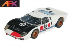 AFX Mega-G+ Ford GT40 #98 Daytona HO Slot Car 21033