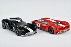 '.AFX Ford GT HO Slot Cars.'