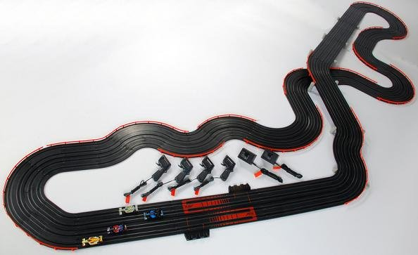 Afx super international slot car track raja kattamuri poker