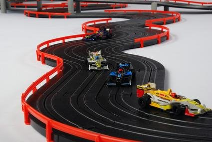 Image 3 of AFX Super International HO Race Set 21018