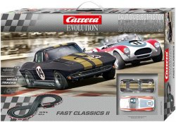 Carrera 20025215 EVOLUTION Fast Classics II 1/32 Race Set