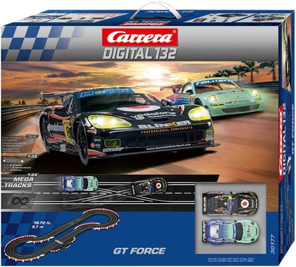Image 0 of Carrera 30177 DIGITAL 132 GT Force 1/32 Race Set