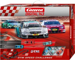 Carrera DIGITAL 143 DTM Speed Challenge 1/43 Race Set 20040032