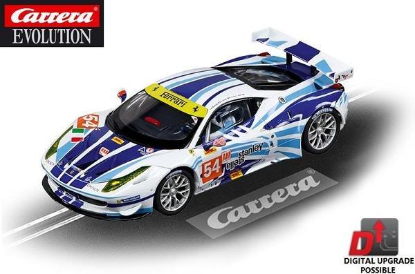 Image 0 of Carrera EVOLUTION Ferrari 458 Italia GT2 AF Corse 1/32 Slot Car 27481