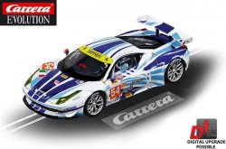 Carrera EVOLUTION Ferrari 458 Italia GT2 AF Corse 1/32 Slot Car 27481
