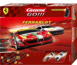 Carrera GO Ferrari GT 1/43 Race Set 62356