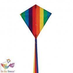 Rainbow Stripe 18 Diamond Kite