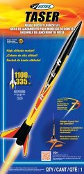 Estes Taser Model Rocket Launch Set 1491