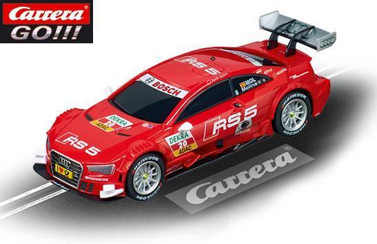 Carrera GO Audi A5 DTM Molina 1/43 Slot Car 64042