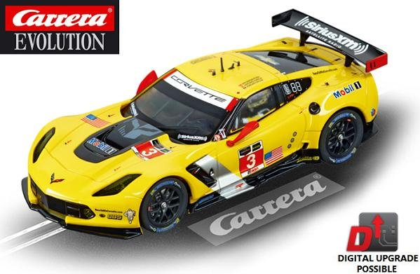 Image 0 of Carrera EVOLUTION Chevrolet Corvette C7.R 1/32 Slot Car 20027469