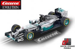 Carrera EVOLUTION Mercedes-Benz F1 W05 Hybrid Hamilton 27495