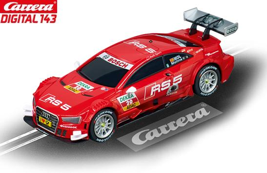 Carrera DIGITAL 143 Audi A5 DTM Molina 1/43 Slot Car 20041386