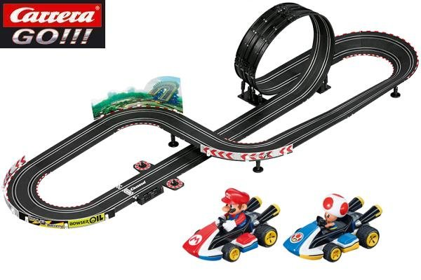 Carrera  Go Mario Kart Slot Car Race Set