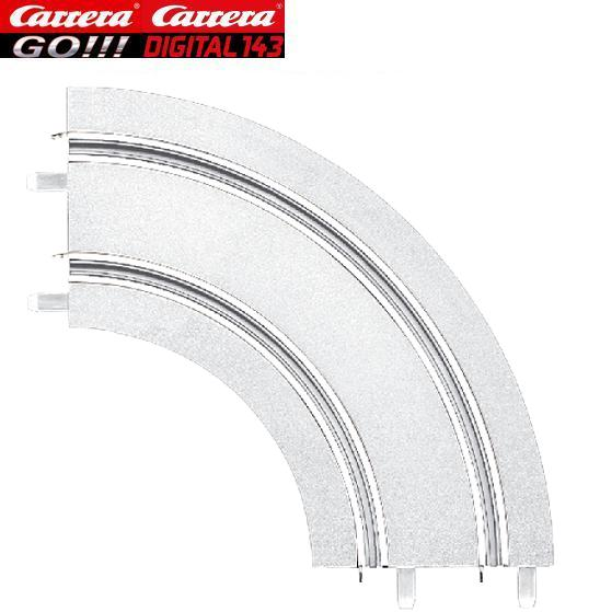 Carrera GO/DIGITAL 143 1/90° Ice Curves (2) 61644