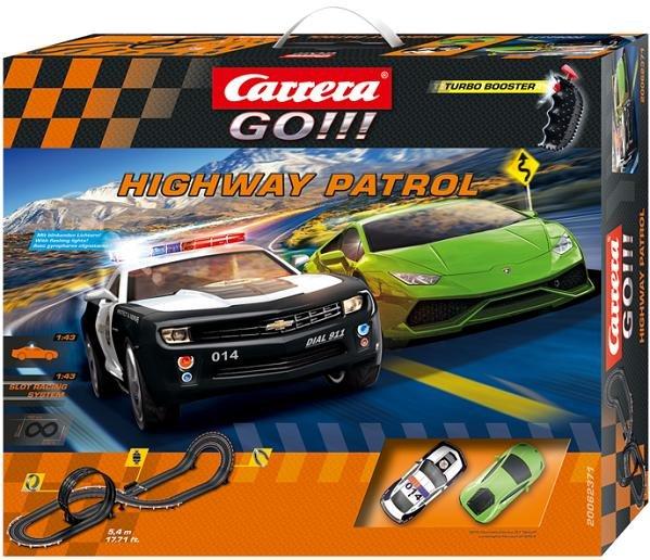 Image 0 of Carrera GO Highway Patrol 1/43 Race Set 20062371