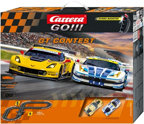 Image 0 of Carrera GO GT Contest 1/43 Race Set