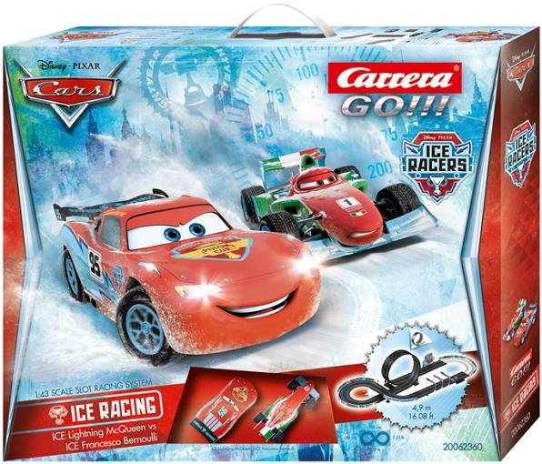 Image 0 of Carrera GO Cars Ice Racing 1/43 Race Set 20062360