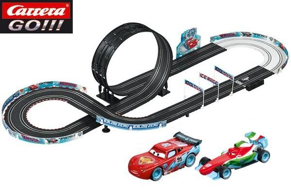 Image 1 of Carrera GO Cars Ice Racing 1/43 Race Set 20062360