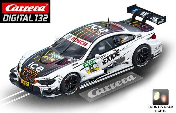Image 0 of Carrera DIGITAL 132 BMW M4 DTM Wittmann 1/32 Slot Car 20030738