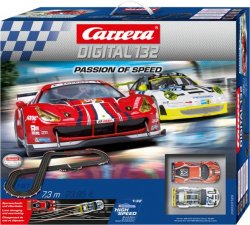 Carrera 20030195 DIGITAL 132 Passion of Speed 1/32 Race Set