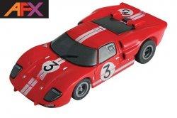 AFX Mega-G+ Ford GT40 Gurney HO Slot Car 21032