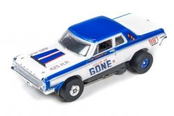 Auto World ThunderJet R16 COLOR ME GONE 1969 Dodge 330 Super Stock HO Slot Car